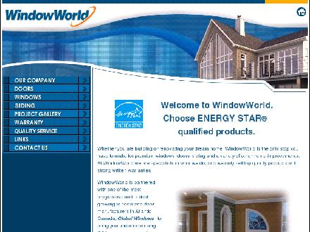WindowWorld (506-801-9487) - Onglet de site Web - http://www.windowworld.ca