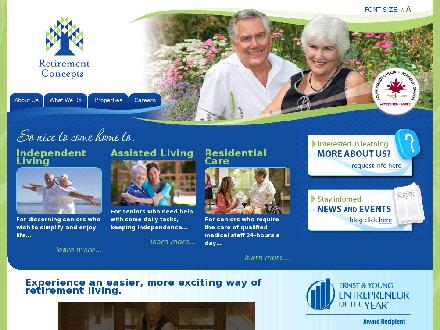 Maple Ridge Seniors Village (604-466-3053) - Website thumbnail - http://www.retirementconcepts.com