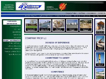 Robinson D Contracting Ltd (250-591-2151) - Website thumbnail - http://www.drobinsoncontracting.com