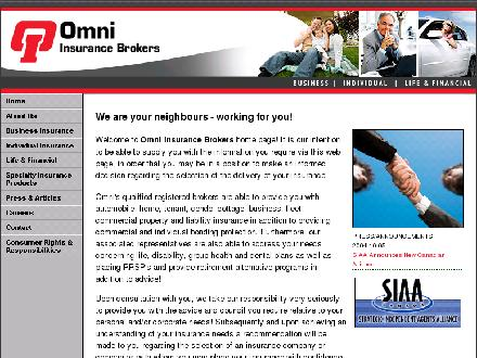 Omni Insurance Brokers (226-270-0398) - Onglet de site Web - http://www.omniinsurance.on.ca