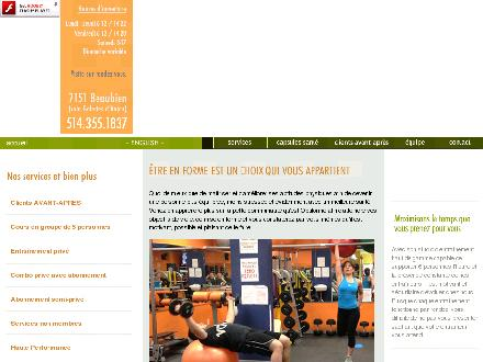 Optiforme (514-355-1837) - Website thumbnail - http://www.optiforme.ca