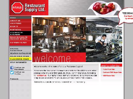S T O P Restaurant Supply (226-214-4505) - Website thumbnail - http://www.shopatstop.com