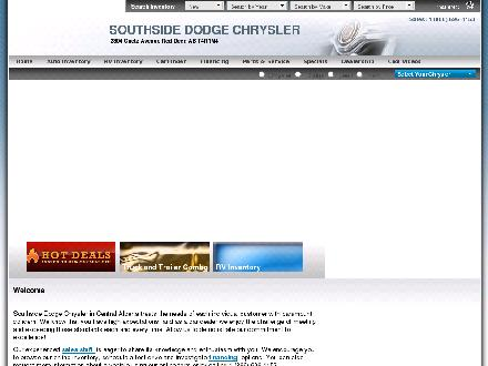 Southside Dodge Chrysler Jeep &amp; RV Centre (403-406-0306) - Website thumbnail - http://www.southsidedodgechrysler.com