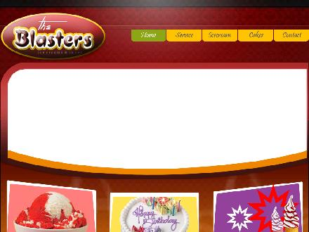 The Blasters (204-677-4444) - Onglet de site Web - http://www.theblasters.ca