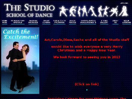 Studio School Of Dance Inc The (403-228-5668) - Onglet de site Web - http://www.thestudio.ab.ca
