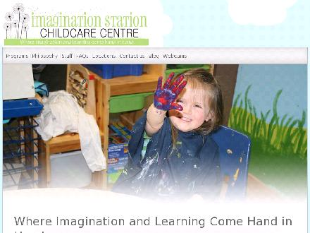 Imagination Station Child Care Centre (604-467-7529) - Website thumbnail - http://www.imaginationstationchildcarecentre.com