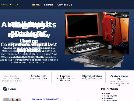 Friendly PC Sales &amp; Service (519-567-5760) - Onglet de site Web - http://www.friendlypc.ca