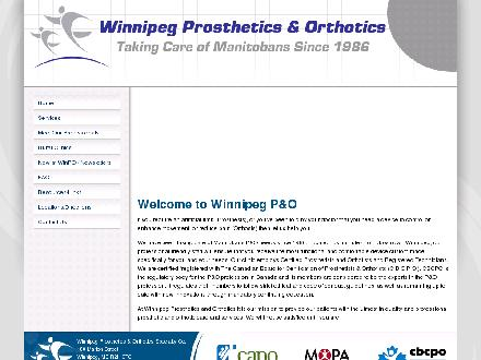 Winnipeg Prosthetics & Orthotics Specialty Co Ltd (204-233-3942) - Onglet de site Web - http://www.winnipegpando.com