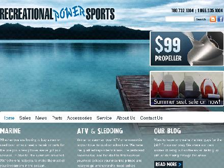 Recreational Power Sports Inc (780-732-1004) - Website thumbnail - http://www.recreationalpowersports.com