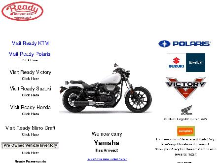 Honda Ready (289-805-0755) - Onglet de site Web - http://www.readypowersports.com