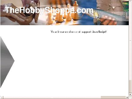 The Hobby Shoppe (519-938-2700) - Onglet de site Web - http://www.thehobbyshoppe.com