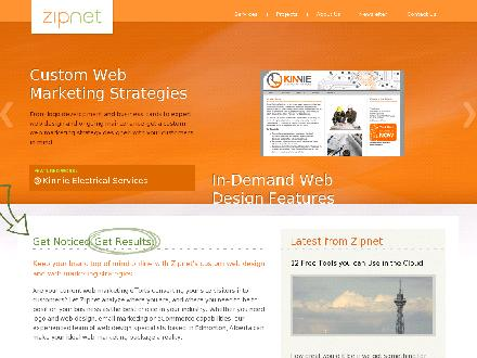 Zipnet Design (780-484-2947) - Website thumbnail - http://www.zipnetdesign.com
