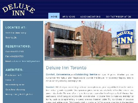 Deluxe Inn (647-800-7019) - Website thumbnail - http://www.deluxeinn.ca