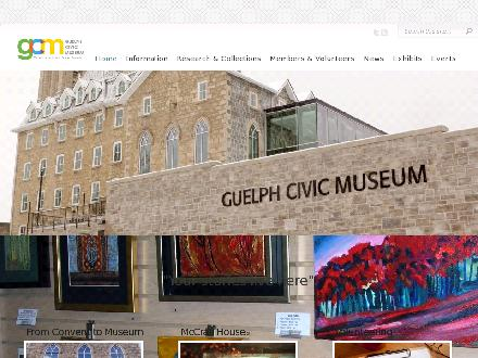 GUELPH (CITY OF) (519-836-1221) - Website thumbnail - http://guelph.ca/museum