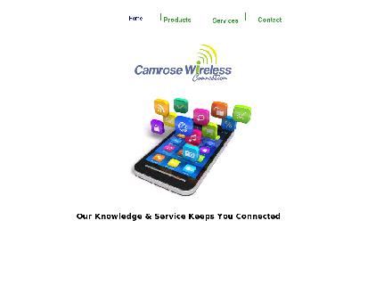 Camrose Wireless Connection Ltd (780-672-0050) - Website thumbnail - http://www.camrosewireless.com