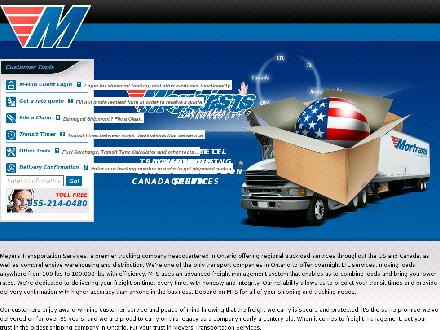 Meyers Transport Limited (1-800-565-3708) - Website thumbnail - http://www.shipmts.com