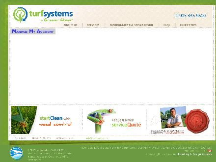Turf Systems Inc (905-336-9500) - Onglet de site Web - http://www.turfsystems.ca