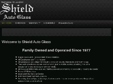 Shield Auto Glass (416-751-9436) - Website thumbnail - http://www.shieldautoglass.com