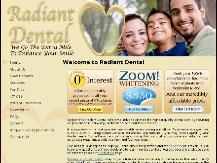 Kingston Square Dental (416-283-3368) - Website thumbnail - http://www.radiantdental.ca