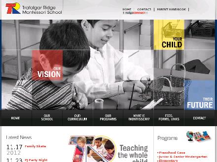 Trafalgar Ridge Montessori School (905-257-5955) - Website thumbnail - http://www.trms.ca