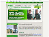 All-West Glass Edmonton Ltd (780-392-9836) - Onglet de site Web - http://allwestglass.ca/