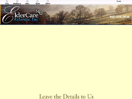 Eldercare Atlantic Inc (902-446-3636) - Onglet de site Web - http://www.eldercareatlantic.com