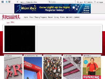 Runningroom.com - Website thumbnail - http://www.runningroom.com