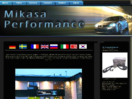 Mikasa Performance (403-302-6674) - Onglet de site Web - http://www.mikasaperformance.com