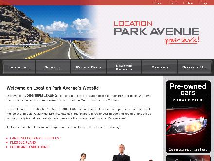 Location Park Avenue (514-899-9000) - Onglet de site Web - http://www.locationparkavenue.com