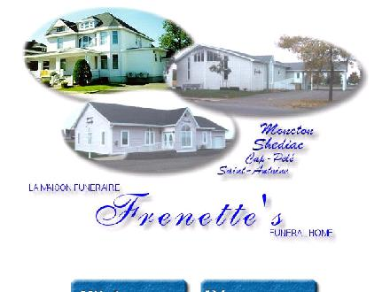 Frenette Funeral Home Ltd (506-858-1900) - Website thumbnail - http://www.salonfrenette.com