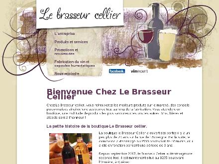 Brasseur Cellier (Le) (418-847-2223) - Onglet de site Web - http://www.brasseurcellier.com