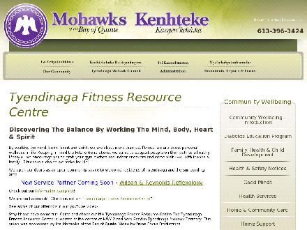 Tyendinaga Fitness Resource Centre (613-962-2822) - Website thumbnail - http://mbq-tmt.org/community-services/tyendinaga-fitness-resource-centre