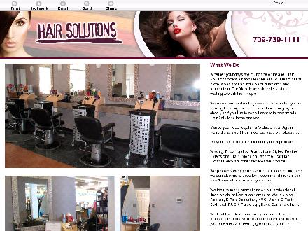 Hair Solutions (709-701-3054) - Website thumbnail - http://hairsolutionsstjohns.com/