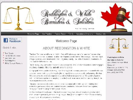 Reddington & White (905-896-7533) - Onglet de site Web - http://www.reddingtonandwhite.com
