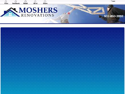 Mosher's Renovations Ltd (902-830-3856) - Onglet de site Web - http://moshersrenovations.com/