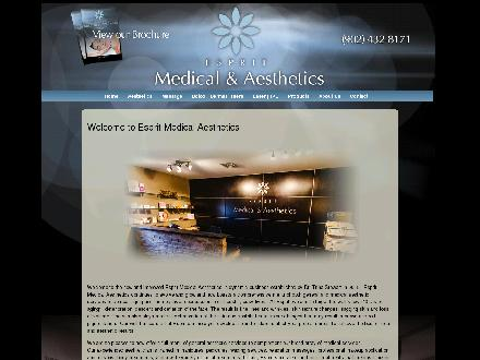 Esprit Medical Aesthetics (902-432-8171) - Website thumbnail - http://www.peibotox.com