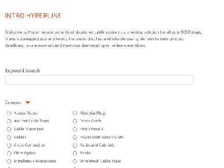 Hyperline Systems Canada Ltd (1-866-634-9737) - Onglet de site Web - http://www.hyperline.com