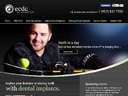 East Coast Dental Centre (1-877-312-3229) - Onglet de site Web - http://www.eastcoastsmile.com