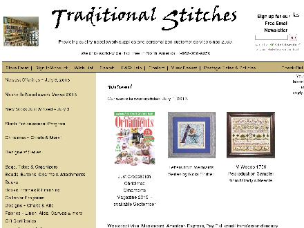 Traditional Stitches (403-208-9650) - Website thumbnail - http://www.traditionalstitches.com