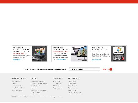 lenovo.com - Website thumbnail - http://www.lenovo.com