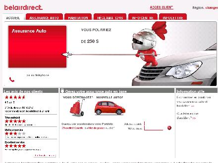 belairdirect (1-866-495-6317) - Onglet de site Web - https://www.belairdirect.com/indexqcfr.htm?organization_source=TARGETMARKETWBBA1249