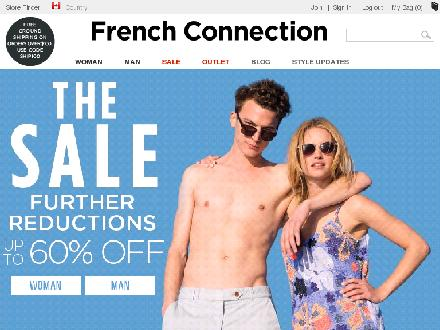 Frenchconnection.com - Onglet de site Web - http://www.frenchconnection.com