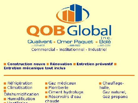 QOB Global Inc (418-683-2281) - Onglet de site Web - http://www.qobglobal.com