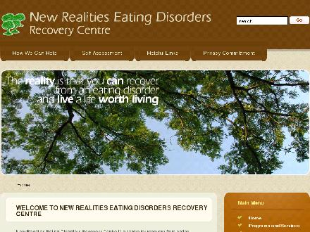 New Realities Eating Disorders Recovery Centre (416-921-9670) - Website thumbnail - http://www.newrealitiescan.com