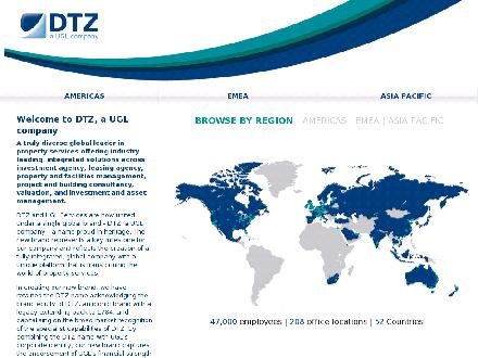 DTZ, a UGL company (416-449-1710) - Website thumbnail - http://www.dtzbarnicke.com