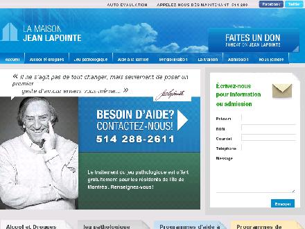 Maison Jean Lapointe (La) (514-288-2611) - Website thumbnail - http://www.maisonjeanlapointe.com