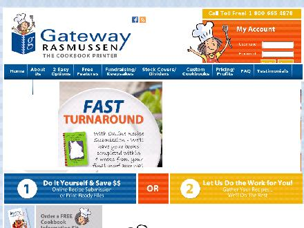 Gateway Publishing Co Ltd (204-663-9214) - Onglet de site Web - http://www.gatebook.com
