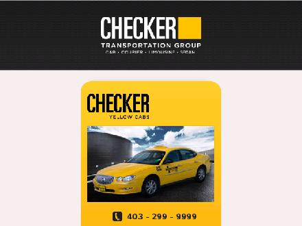 Checker Courier (403-299-4900) - Website thumbnail - http://www.thecheckergroup.com/courier