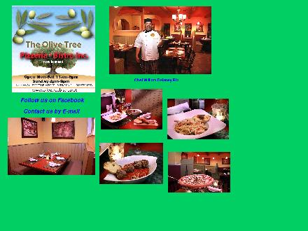 The Olive Tree (902-539-1553) - Website thumbnail - http://www.olivetreebistro.net