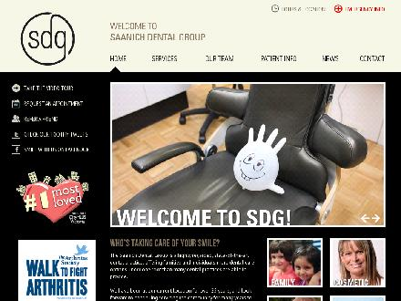Saanich Dental Group (250-419-9734) - Onglet de site Web - http://www.saanichdentalgroup.com
